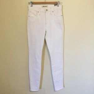 """Brand New! 9"""" High Rise Madewell Skinny Jeans"""